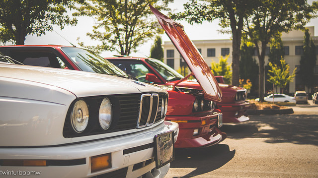E30 Chapter Coming Through Town