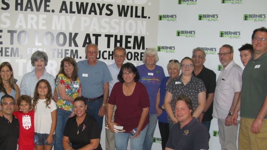 2018 Volunteer Picnic at Bernie's Book Bank