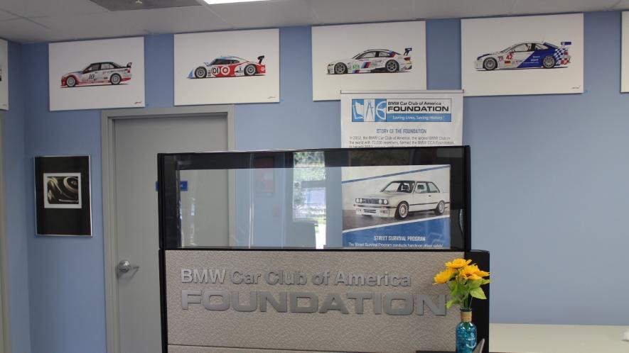 "BMW CCA Foundation's Newsletter ""The Foundation Forum"""