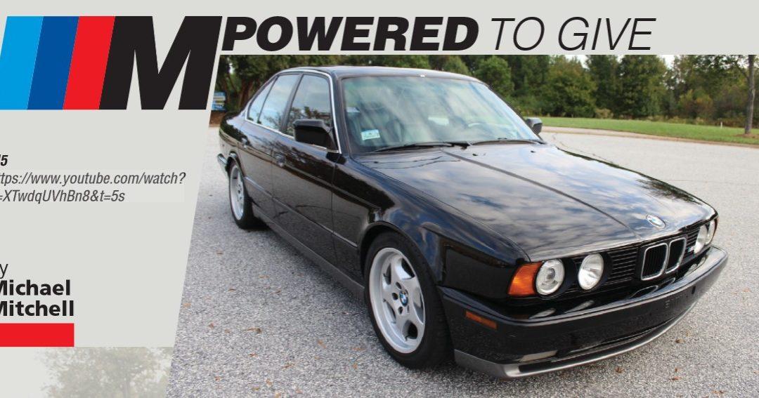 2021 BMW CCA Foundation Update